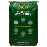 Zach's Chicken Meal & Rice, 50 lb bag